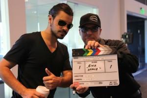 Bob Bekian Directing Lamborghini Commercial