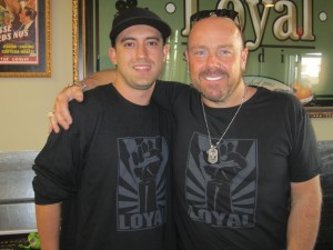 Jason Bonham at Loyal Studios Led Zepplin