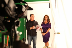 Bob Bekian Directing Lisa Ashley Cosmetics