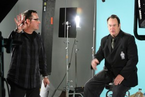 Bob Bekian Directs Dan Aykroyd at Loyal Studios Crystal Head Vodka